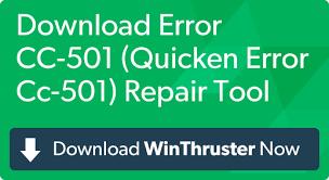 Quicken Error CC 501 | Complete Resolution \u2013 Quotefully