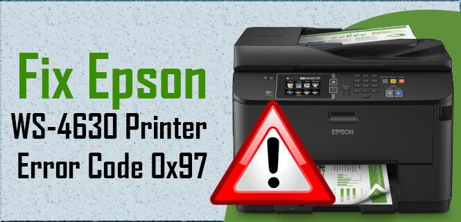 Epson Error Code 0x97