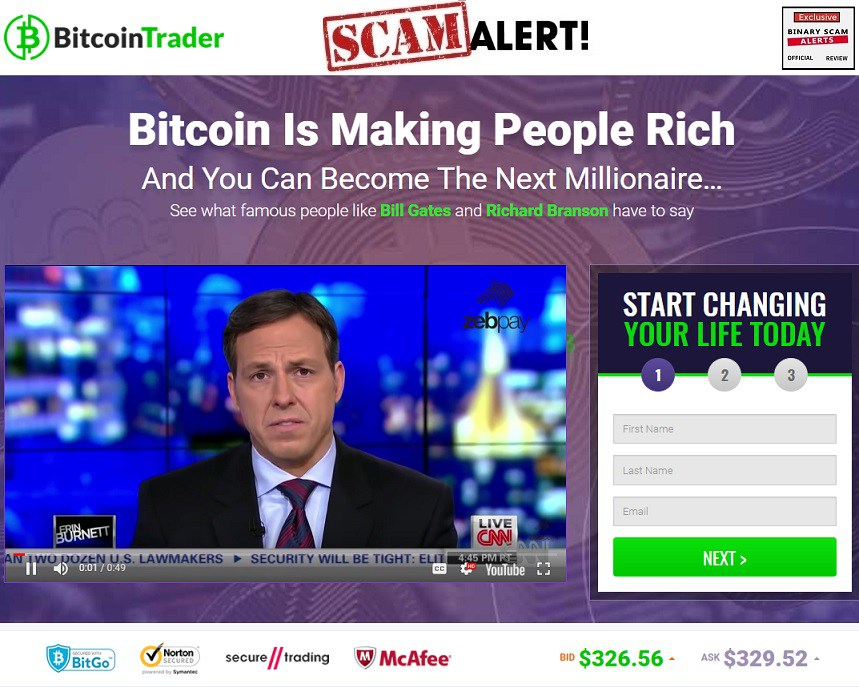 The Bitcoin Trader