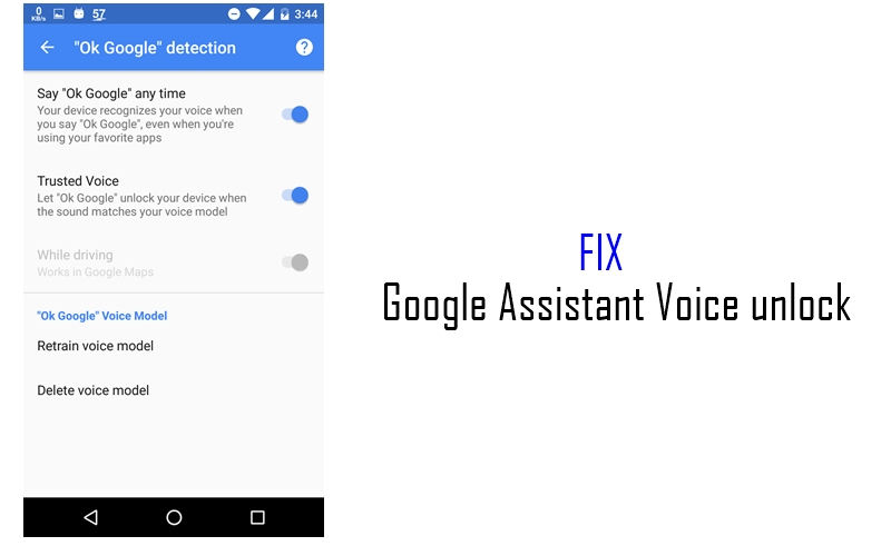 Google Can't Recognize Your Voice