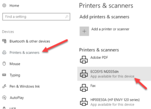 Recover Your Printer In Error State