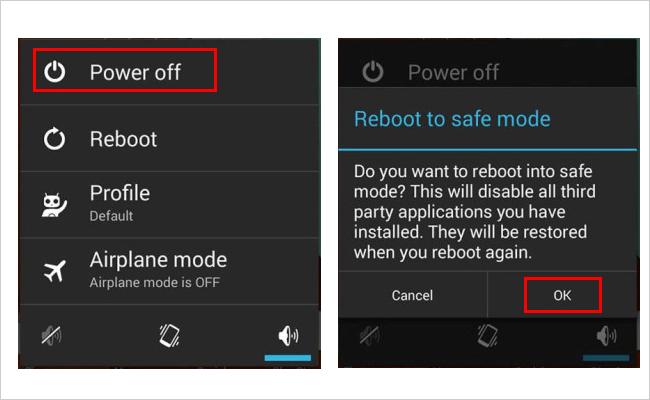 Reboot to sage mode