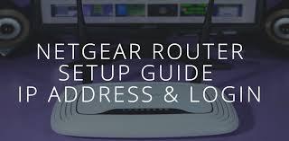 Netgear Router Setup.