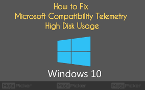 Microsoft Compatibility Telemetry High Disk Usage Fix