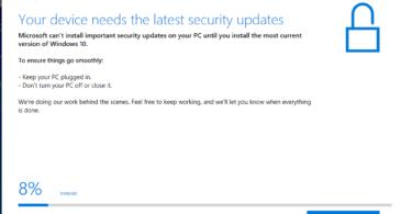 Wndows 10 Update assistant