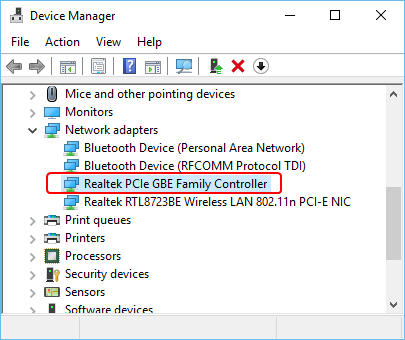Fix Realtek PCIE GBE Family Controller | Quotefully