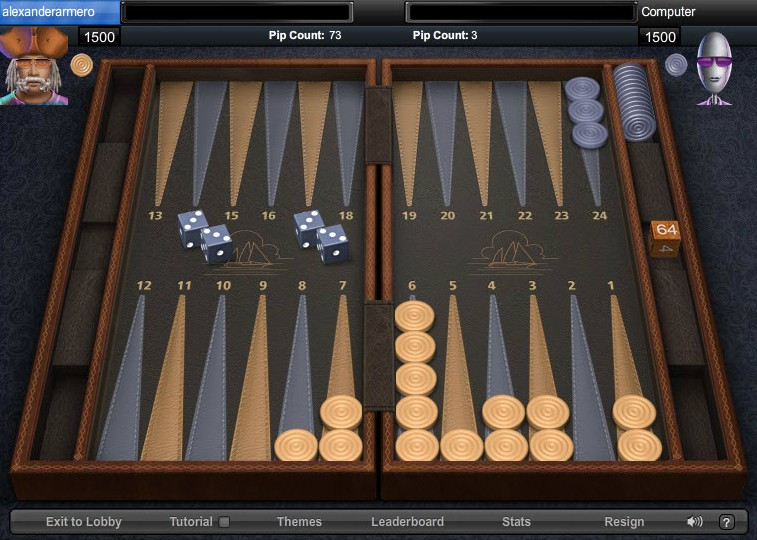 Backgammon Agame
