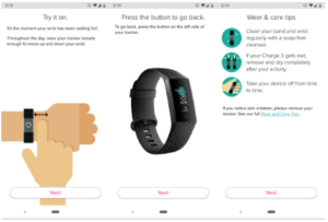 Fitbit setup charge 3