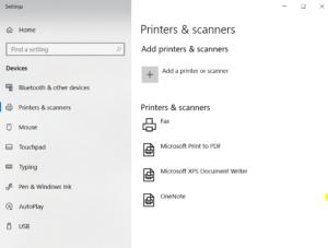 HP Printer Setup