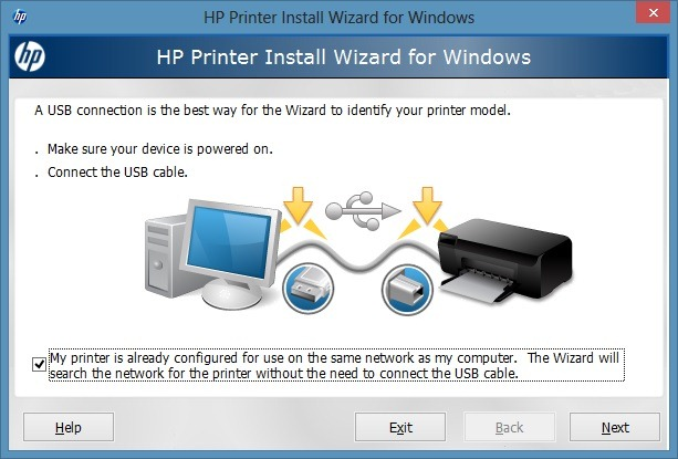 HP Printer Setup Wizard