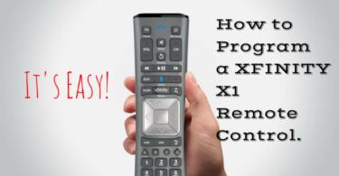 Xfinity Remote Setup
