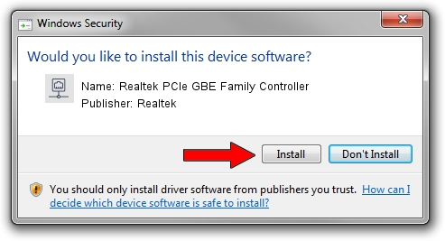 Realtek PCIE GBE Family Controller for Windows 7