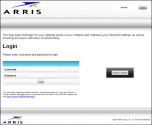 arris routers