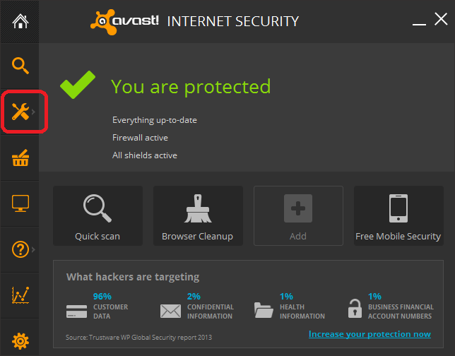 How to Disable Avast