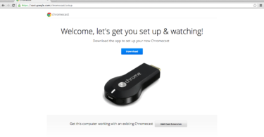 Google Chromecast Setup