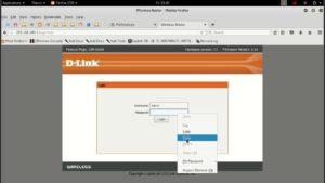 D Link Router login