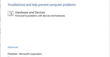 headphones not working in Windows 10