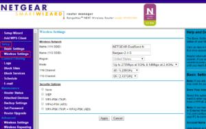 Netgear router login