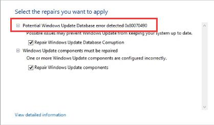 Fix: Potential Windows Update Database Error | Quotefully