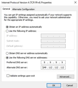 public dns server setup