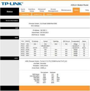Tp link router setup