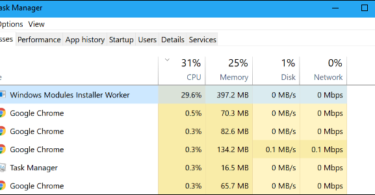 Windows Modular Installer Worker