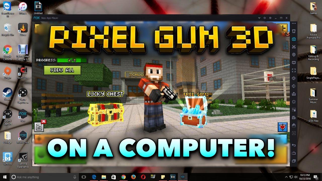 3d pixel gun