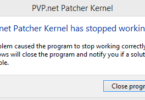 """PVP.Net Patcher Kernel Has Stopped Working"""