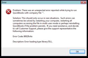 qb error 80029c4a