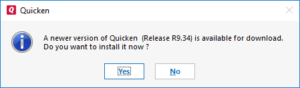 Quicken Error code CC-892