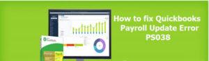 QuickBooks Payroll Update Error: