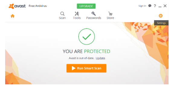 Avast behavior shield