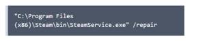 steam service error