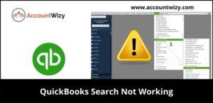 quickbooks search