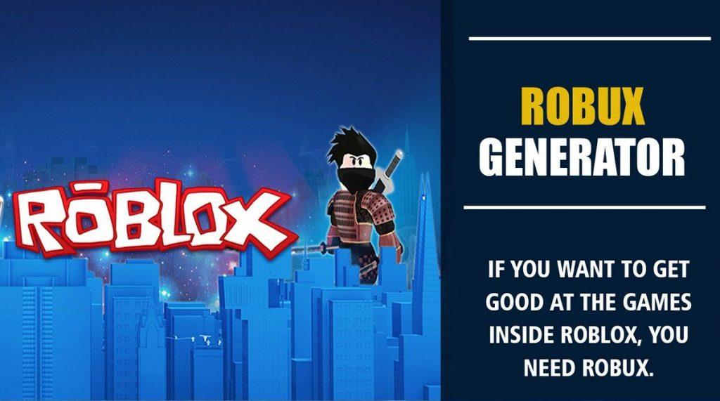 Use Free Roblox Robux Generator