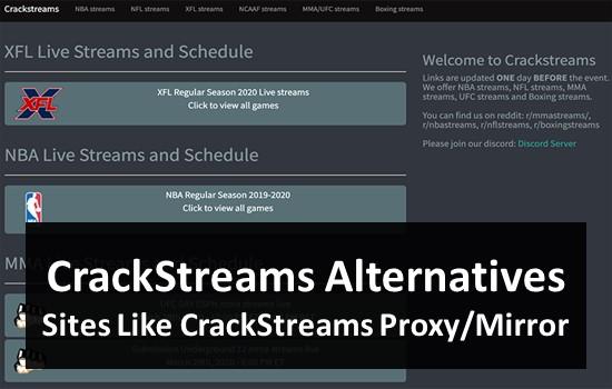 Cracked Streams