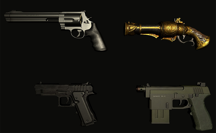 Blade And Sorcery Fisher's Pistols Pack
