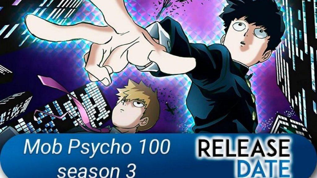 Release Date of Mob Psycho 100 Season 3