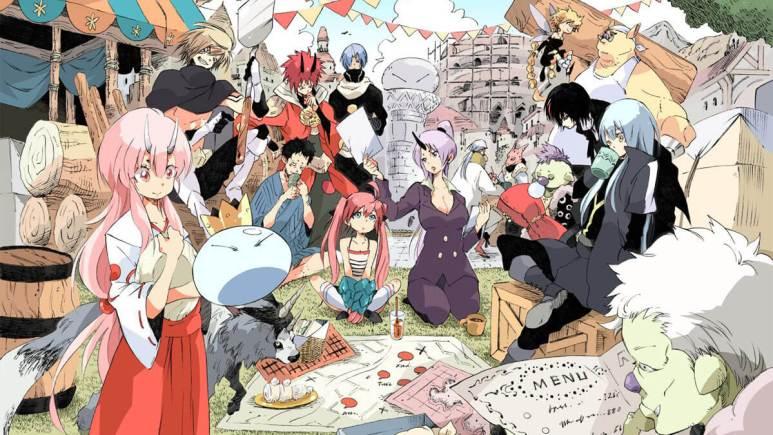 that time i got reincarnated as a slime manga online